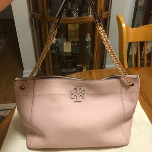 Authentic Tory Burch McGraw Shoulder Bag
